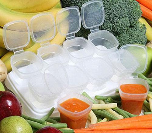 Nguyên tắc bảo quản đồ ăn dặm của bé với tủ lạnh