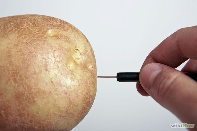 Làm anten khoai tây giúp tín hiệu tivi mạnh hơn gấp đôi3