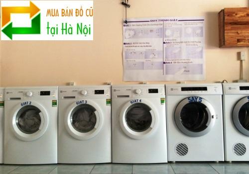 mua bán máy giặt cũ tại nhà Hà Nội